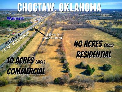 Canadian County, Oklahoma County Residential Lots & Land For Sale: 13700 NE 23rd Street