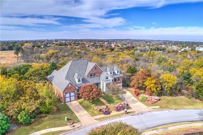 Edmond Single Family Home For Sale: 3313 Winding Creek