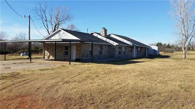 Newalla Single Family Home For Sale: 4601 S Luther Road