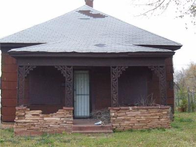 Oklahoma City OK Single Family Home For Sale: $18,000