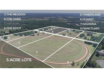 Canadian County, Oklahoma County Residential Lots & Land For Sale: Arcadian Oaks Drive