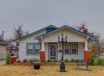 Oklahoma City Single Family Home For Sale: 1612 NW 19th Street