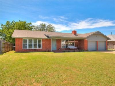 Moore Single Family Home For Sale: 3121 Larkspur Road