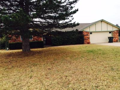 Blanchard OK Single Family Home For Sale: $169,000