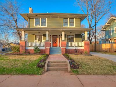 Oklahoma County Single Family Home For Sale: 529 NW 19th