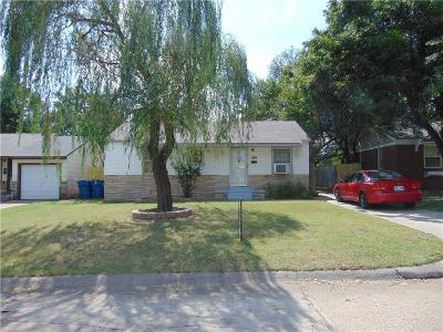 Midwest City Single Family Home For Sale: 524 Showalter Dr