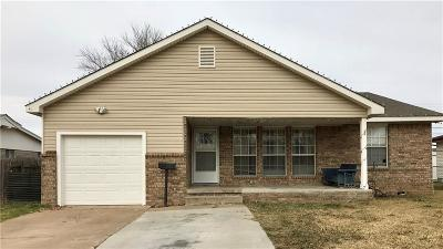 Midwest City OK Single Family Home For Sale: $126,500