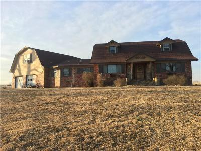 Cushing Single Family Home For Sale: 1306 W Dunkin