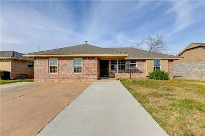 Moore OK Single Family Home For Sale: $69,900