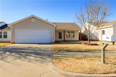 Yukon Single Family Home For Sale: 1005 Periwinkle Drive