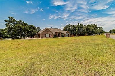 Blanchard Single Family Home For Sale: 515 Hunt Club Road