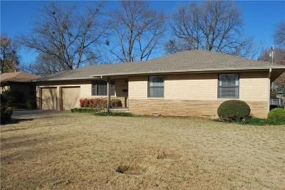 Norman Single Family Home For Sale: 1517 Melrose