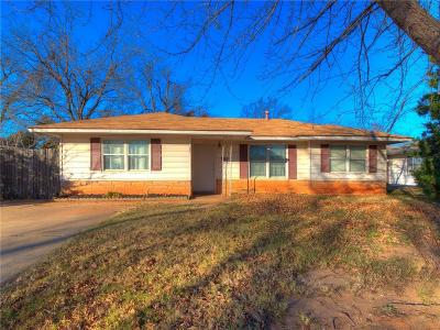 Bethany Single Family Home For Sale: 3401 N Mueller Avenue
