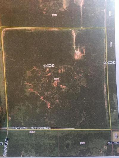 Logan County Residential Lots & Land For Sale: Forest Hills Rd