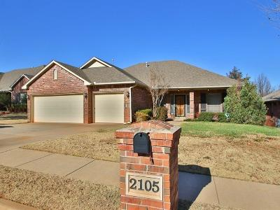 Edmond Single Family Home For Sale: 2105 Pine View Terrace