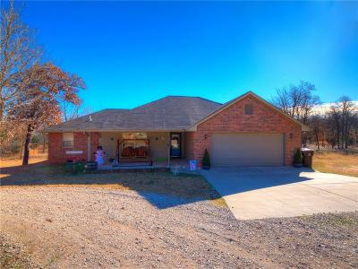 Luther Single Family Home For Sale: 20680 Blackjack Court