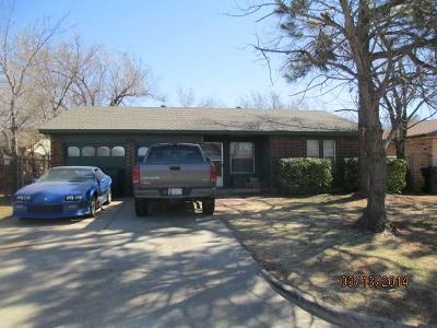 Oklahoma City OK Single Family Home For Sale: $64,500
