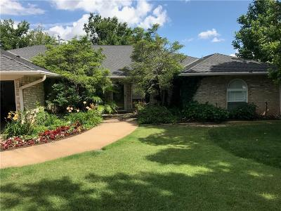 Oklahoma City Single Family Home For Sale: 9708 Castle Road