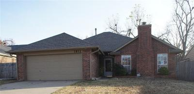 Edmond Single Family Home For Sale: 1812 Foxfire Road