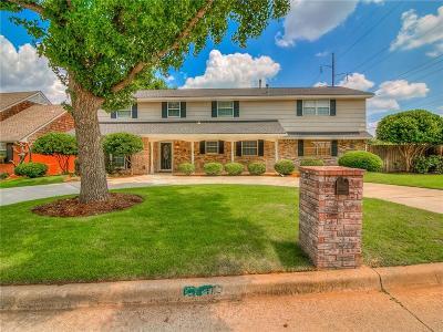 Oklahoma City Single Family Home For Sale: 10900 Rock Ridge