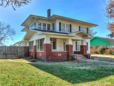 Chickasha Single Family Home For Sale: 1303 W Minnesota