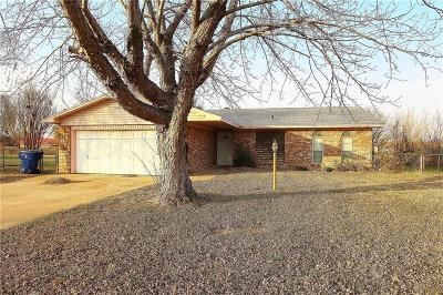 Chickasha OK Single Family Home For Sale: $90,000