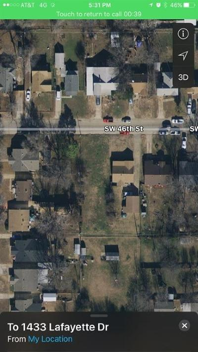 Oklahoma City Residential Lots & Land For Sale: SW 46th