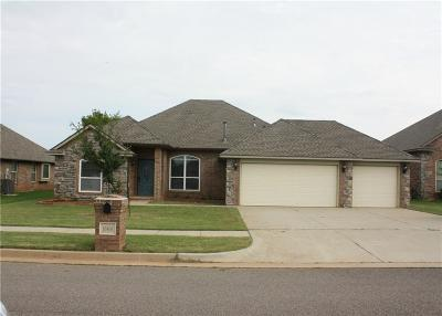 Edmond Single Family Home For Sale: 16408 Friar Court