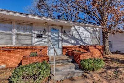 Chickasha OK Single Family Home For Sale: $85,000