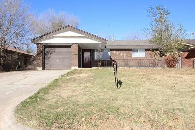Oklahoma City Rental For Rent: 3133 SW 65th Place