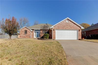 Edmond Single Family Home For Sale: 624 Taber Lane