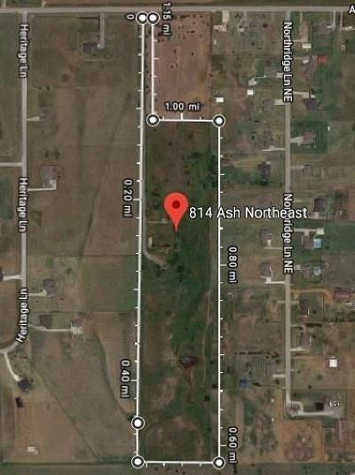 Canadian County, Oklahoma County Residential Lots & Land For Sale: 814 Ash NE