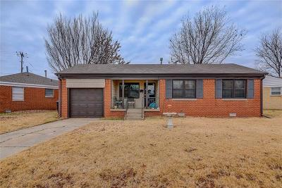 Oklahoma City Single Family Home For Sale: 3741 NW 20th Street