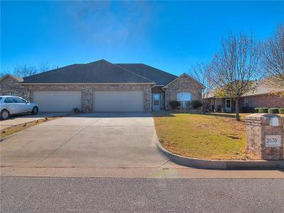 Oklahoma City Multi Family Home For Sale: 2628 Silvertree Drive
