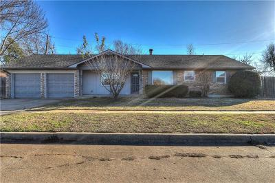 Edmond Single Family Home For Sale: 519 Gayclifee Terrace