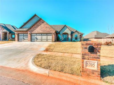 Mustang Single Family Home For Sale: 5705 Ledgestone Drive
