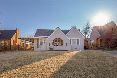 Oklahoma City Single Family Home For Sale: 2716 NW 22nd Street