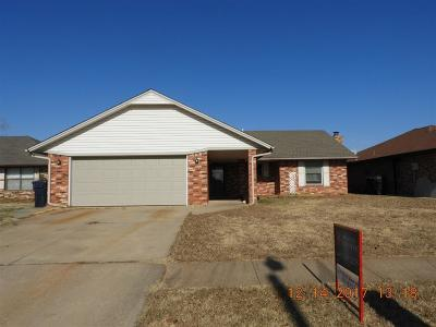 Oklahoma City Single Family Home For Sale: 3125 SW 100th Place