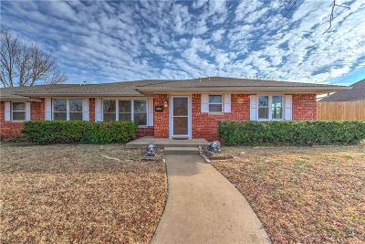 Oklahoma City Single Family Home For Sale: 6200 S Country Club Drive