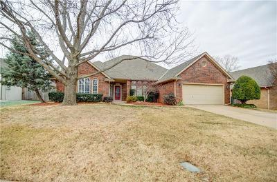 Edmond Single Family Home For Sale: 1613 Tahlequah Drive
