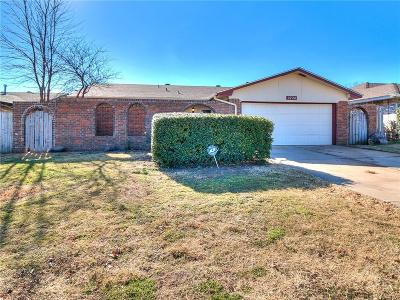 Oklahoma City Single Family Home For Sale: 2724 SW 86th Street