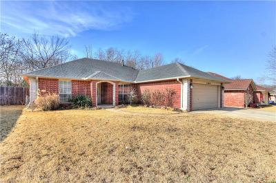 Choctaw Single Family Home For Sale: 1809 Cherokee Trail