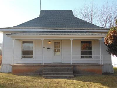 Chickasha Single Family Home For Sale: 1028 S 18th