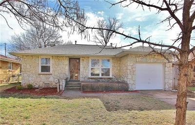 Midwest City Single Family Home For Sale: 212 E Coe Drive
