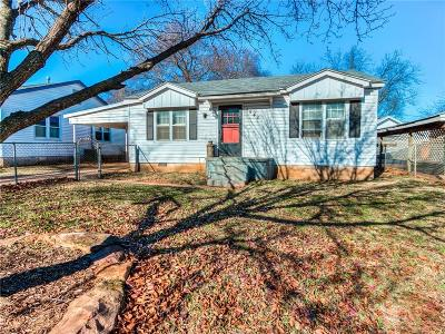 Guthrie Single Family Home For Sale: 1540 W Logan Avenue