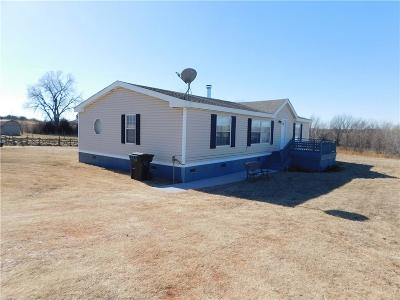 Blanchard Single Family Home For Sale: 1408 Clear Pond Rd