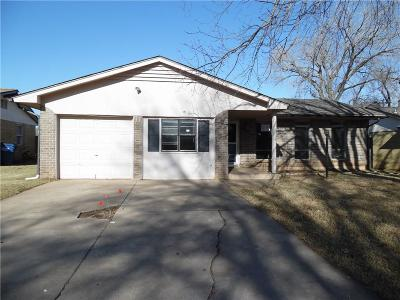 Mustang OK Single Family Home Sale Pending: $110,000