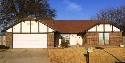 Oklahoma City OK Single Family Home For Sale: $103,900