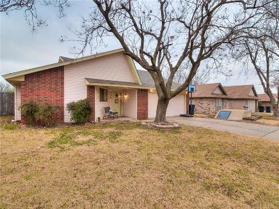 Yukon OK Single Family Home For Sale: $124,999