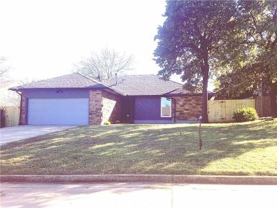 Midwest City Single Family Home For Sale: 9620 Kent